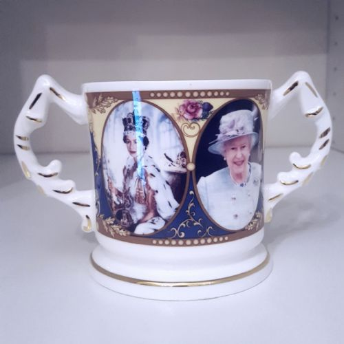 Aynsley Commemorative Coronation Loving Cup